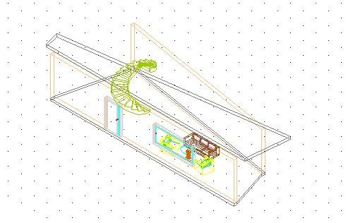 Zobrazení aktuálního podlaží ve 3D